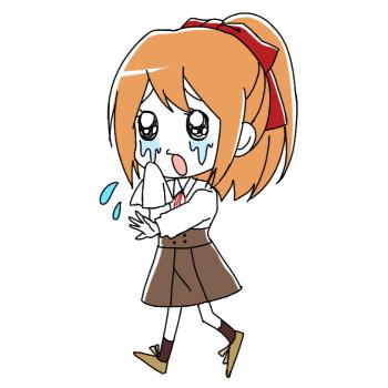 ドジ生徒|泣