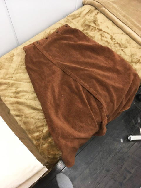 湘南美容外科 大阪心斎橋院のラップタオル